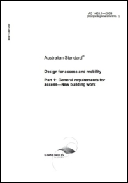 AS 1428.1-2009  Design for access and mobility - General requirements for access - New building work