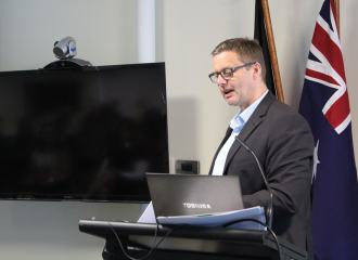 Lee Wilson presented to the Australian Network on Disability February 2016