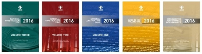 National Construction Code, 5 Volume Covers
