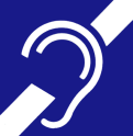 International Symbol of Deafness and hard of hearing