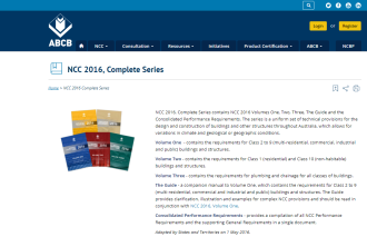 ABCB NCC 2016, Complete Series