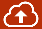 Upload Pictogram of a cloud and up arrow